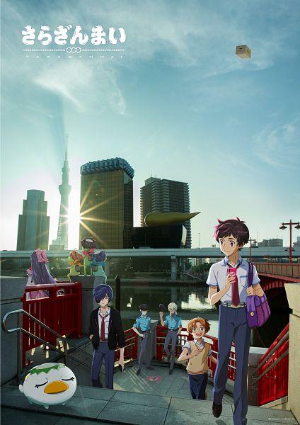 Tags: Anime, Ishikawa Kayoko, MAPPA, Lapin Track, Sarazanmai, Yasaka Kazuki (Kappa), Jinnai Enta (Kappa), Yasaka Kazuki, Azuma Sara, Jinnai Enta, Akutsu Mabu, Kuji Toi (Kappa), Niiboshi Reo