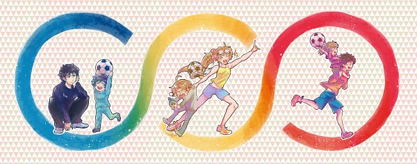 Tags: Anime, Pixiv Id 33265331, Sarazanmai, Kuji Toi, Yasaka Kazuki, Kuji Chikai, Yasaka Haruka, Jinnai Enta