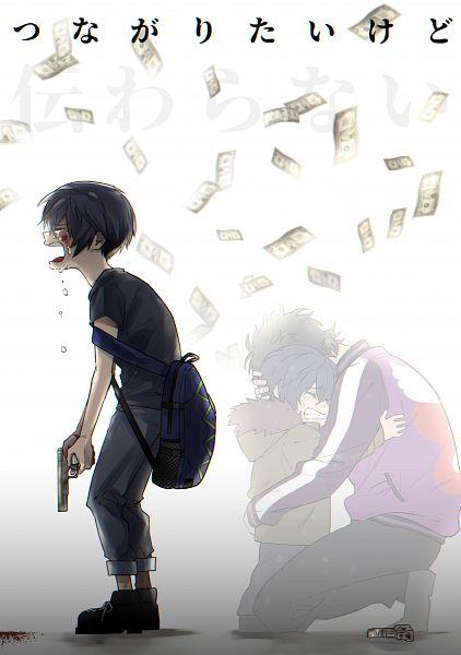 Tags: Anime, Pixiv Id 35899830, Sarazanmai, Kuji Chikai, Kuji Toi, Fanart From Pixiv, Pixiv, Fanart