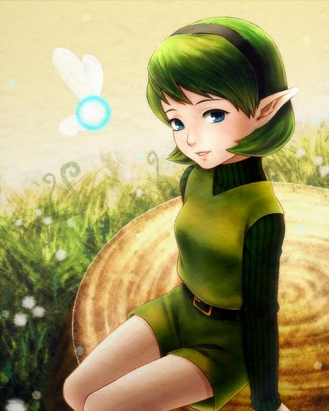 Saria - Zelda no Densetsu: Toki no Ocarina