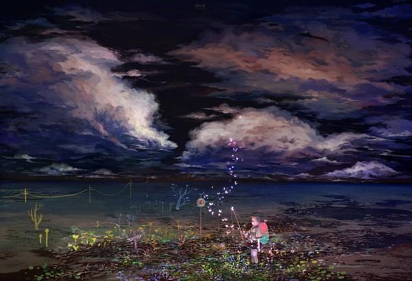 Tags: Anime, Sarnath, Fishing, Fishing Rod, Original, Pixiv