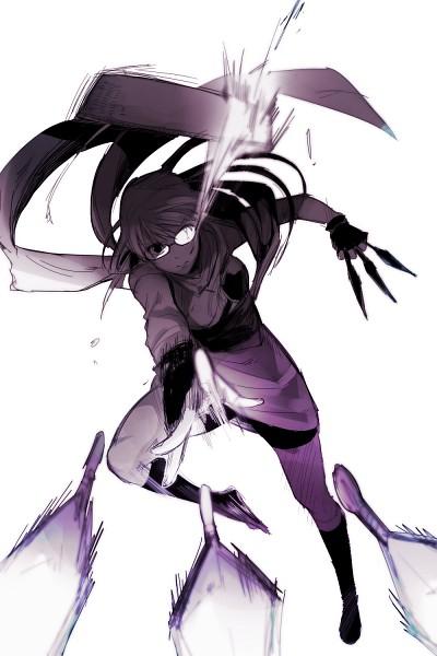 Tags: Anime, Pixiv Id 2053465, Gintama, Sarutobi Ayame, Fanart From Pixiv, Fanart, PNG Conversion, Mobile Wallpaper, Pixiv
