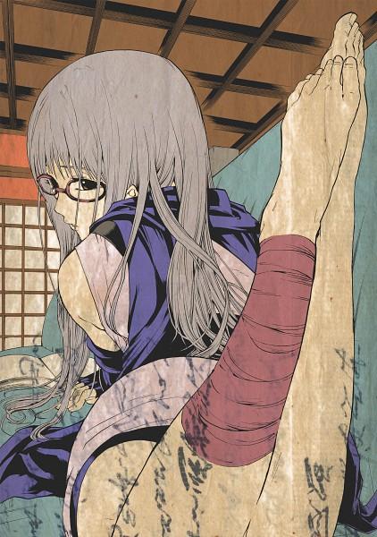 Tags: Anime, Pixiv Id 1119603, Gintama, Sarutobi Ayame, Nihonga, Fanart, Pixiv, Mobile Wallpaper