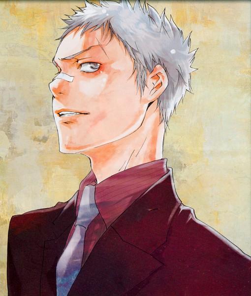 Tags: Anime, Katekyo Hitman REBORN!, Sasagawa Ryohei, Patch On The Nose
