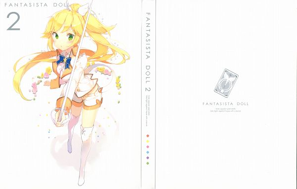 Tags: Anime, Anmi, Hoods Entertainment, Fantasista Doll, Sasara (Fantasista Doll), DVD (Source), Official Art, Scan