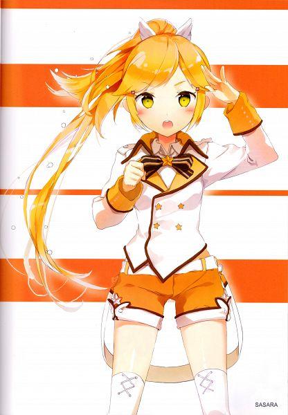 Tags: Anime, Anmi, Fantasista Doll, Fantasista Doll Girls Royale Doll Collections, Sasara (Fantasista Doll), Official Art, Scan