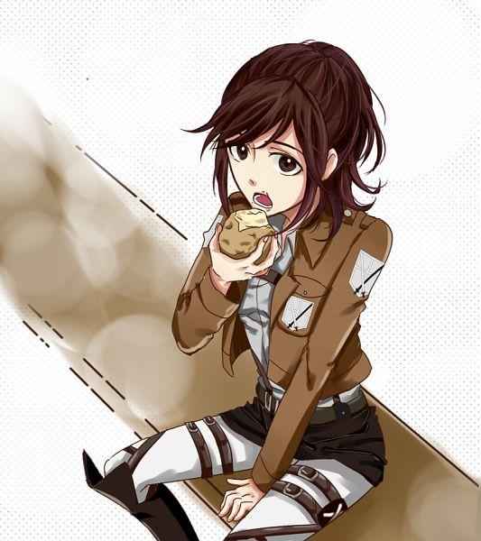 Tags: Anime, Pixiv Id 2330019, Attack on Titan, Sasha Braus, Potato, Sasha Blouse