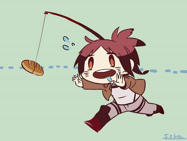 Tags: Anime, Pixiv Id 2423548, Attack on Titan, Sasha Braus, Fishing Rod, Pixiv, Sasha Blouse