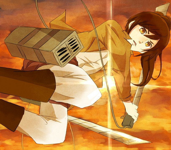 Tags: Anime, Pixiv Id 1256426, Attack on Titan, Sasha Braus, Pixiv, Sasha Blouse