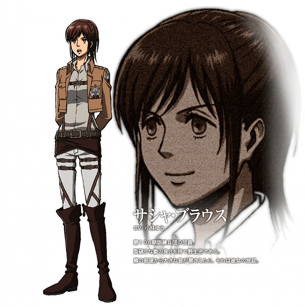 Sasha Braus (Sasha Blouse) - Attack on Titan