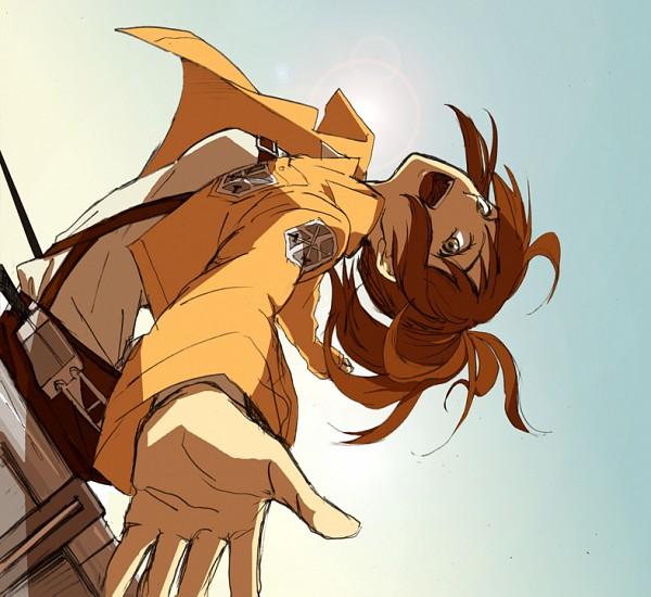 Tags: Anime, Pixiv Id 346470, Attack on Titan, Sasha Braus, Pixiv, Fanart, Fanart From Pixiv, PNG Conversion, Sasha Blouse