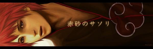 Tags: Anime, miho-nyc, NARUTO, Sasori, Twitter Header, Fanart, Akatsuki (NARUTO)