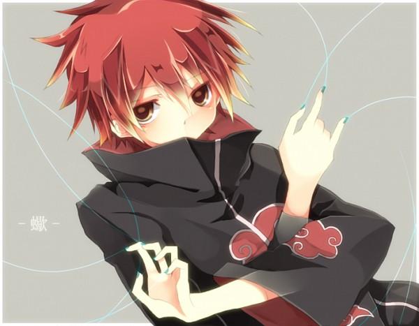 Tags: Anime, Touki (Tim-tim), NARUTO, Sasori, Fanart, Pixiv, Akatsuki (NARUTO)