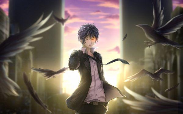 Tags: Anime, Pixiv Id 5390339, Black Bullet, Satomi Rentarou, Wallpaper