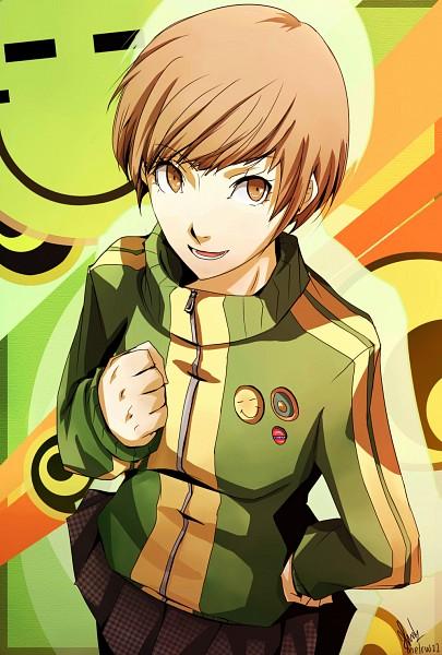 Tags: Anime, Pixiv Id 3973720, Shin Megami Tensei: PERSONA 4, Satonaka Chie, Pixiv, Fanart, Fanart From Pixiv