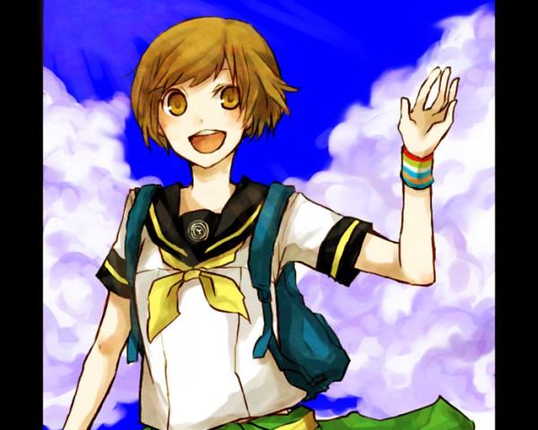Tags: Anime, Buzz, Shin Megami Tensei: PERSONA 4, Satonaka Chie, Pixiv