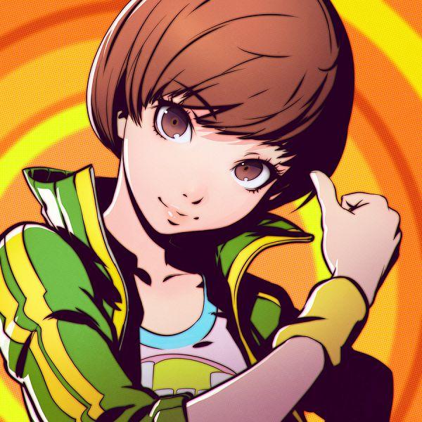 Tags: Anime, KR0NPR1NZ, Shin Megami Tensei: PERSONA 4, Satonaka Chie, Revision