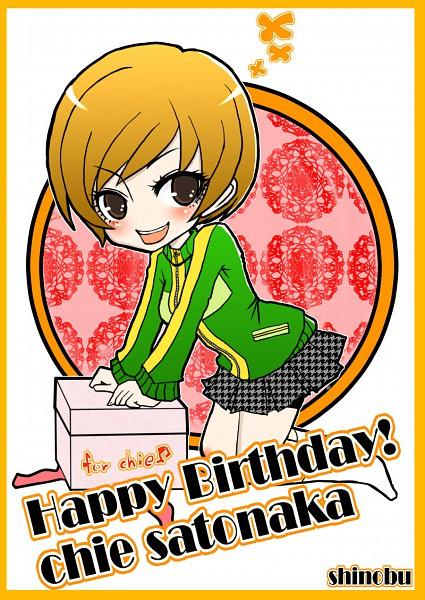 Tags: Anime, Shinobu (Pixiv2500), Shin Megami Tensei: PERSONA 4, Satonaka Chie, Pixiv