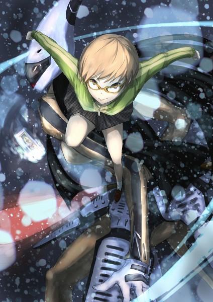 Tags: Anime, Pixiv Id 396031, Shin Megami Tensei: PERSONA 4, Tomoe Gozen, Satonaka Chie, Fanart, Pixiv