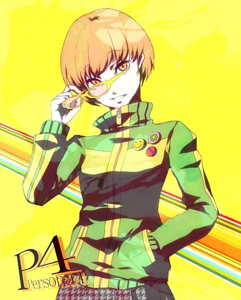 Tags: Anime, Pixiv Id 3733364, Shin Megami Tensei: PERSONA 4, Satonaka Chie, Pixiv, Fanart