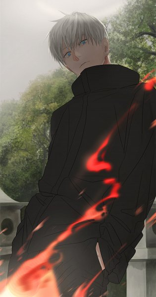Tags: Anime, Pixiv Id 412104, Jujutsu Kaisen, Satoru Gojou, Fanart From Pixiv, Pixiv, Fanart
