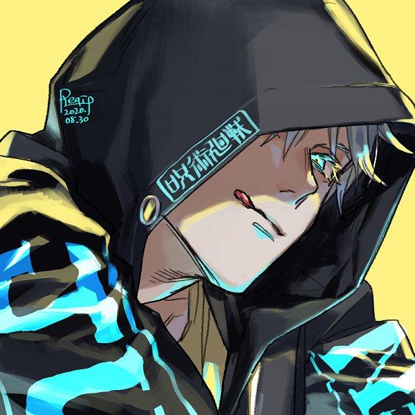 Tags: Anime, Pixiv Id 58677948, Jujutsu Kaisen, Satoru Gojou, Twitter, Fanart