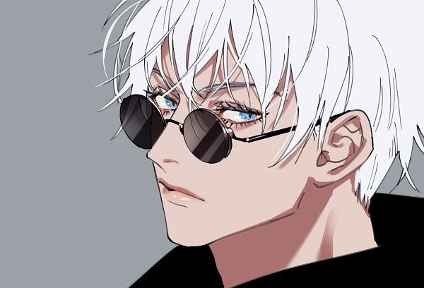 Tags: Anime, Tenobe, Jujutsu Kaisen, Satoru Gojou, Pixiv, Fanart, Twitter, Fanart From Pixiv