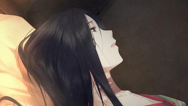 Tags: Anime, Sugina Miki, Innocent Grey, Kara no Shoujo 2, Kayahara Fuyumi, Satsuki (Kara no Shoujo 2), Wallpaper, CG Art, Facebook Cover