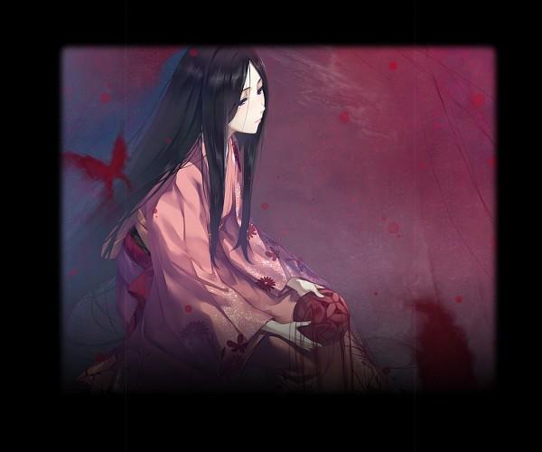 Tags: Anime, Sugina Miki, Innocent Grey, Kara no Shoujo 2, Satsuki (Kara no Shoujo 2), Official Art