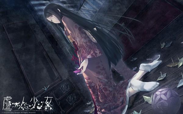 Tags: Anime, Sugina Miki, Innocent Grey, Kara no Shoujo 2, Satsuki (Kara no Shoujo 2), Wallpaper, Official Art, Official Wallpaper