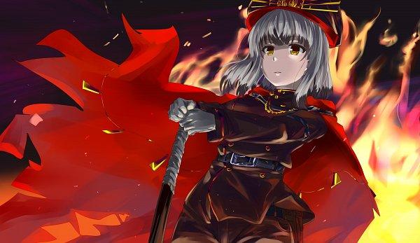 Tags: Anime, Pixiv Id 434978, Toji no Miko, Satsuki Yomi, Majin Archer (Cosplay)