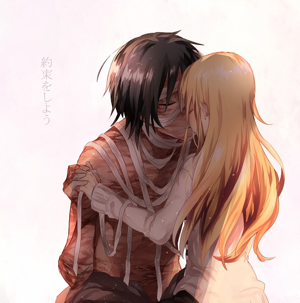 Tags: Anime, Pixiv Id 682615, Satsuriku no Tenshi, Rachel Gardner, Isaac Foster, PNG Conversion, Angels Of Death