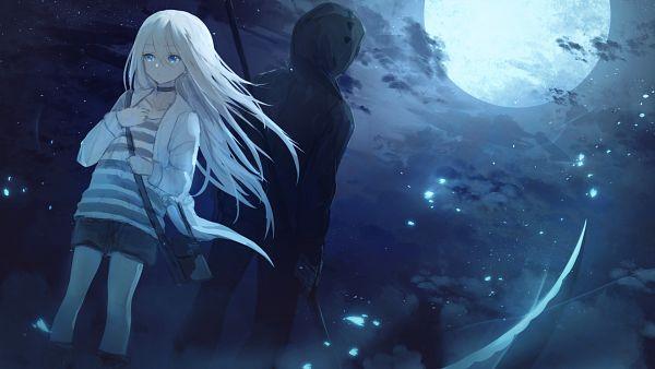Tags: Anime, Pixiv Id 10366936, Satsuriku no Tenshi, Rachel Gardner, Isaac Foster, Shortsm, Pixiv, Wallpaper, Fanart, Fanart From Pixiv, Angels Of Death