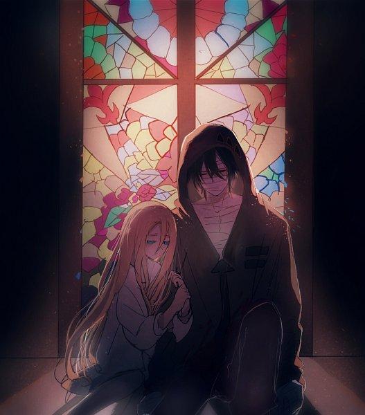 Tags: Anime, Pixiv Id 10943534, Satsuriku no Tenshi, Isaac Foster, Rachel Gardner, Fanart From Pixiv, Pixiv, Fanart, Angels Of Death