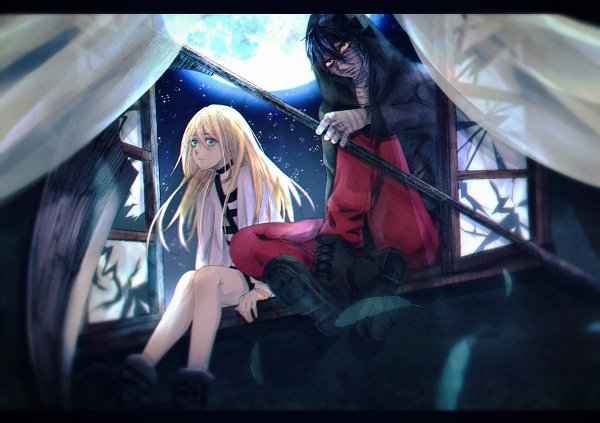 Tags: Anime, Pixiv Id 14567736, Satsuriku no Tenshi, Isaac Foster, Rachel Gardner, Angels Of Death
