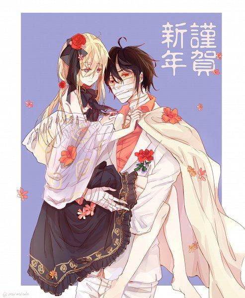 Tags: Anime, Pixiv Id 7591468, Satsuriku no Tenshi, Isaac Foster, Rachel Gardner, Angels Of Death