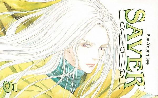 Tags: Anime, Saver (series), Michael, Manga Cover, Scan, Official Art