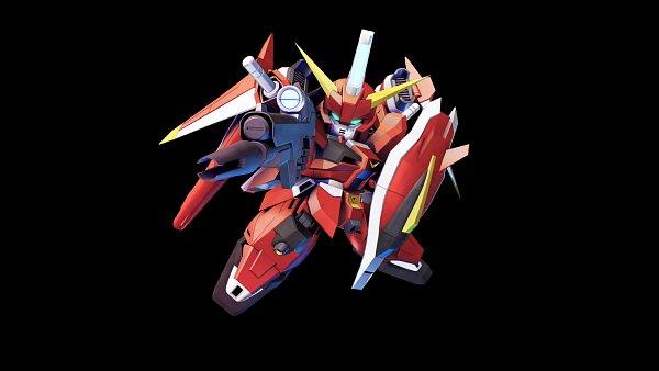 Tags: Anime, Bandai Namco Entertainment, Mobile Suit Gundam SEED Destiny, SD Gundam G Generation, Saviour Gundam, Wallpaper, Gundams