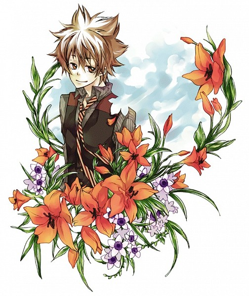 Tags: Anime, Pixiv Id 3808687, Katekyo Hitman REBORN!, Sawada Tsunayoshi, Tiger Lily, Pixiv