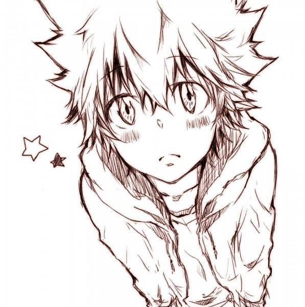 Tags: Anime, Sora-no-ne, Katekyo Hitman REBORN!, Sawada Tsunayoshi, Pixiv, Fanart From Pixiv, Fanart