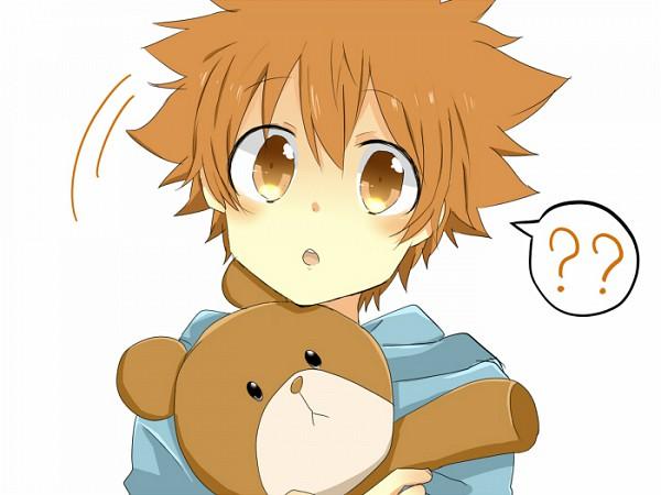 Tags: Anime, Pixiv Id 1788290, Katekyo Hitman REBORN!, Sawada Tsunayoshi, Confused, Pixiv, Fanart