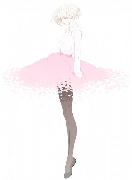 Tags: Anime, Sawasawa, Ballet, Ballerina Outfit, PNG Conversion, Pixiv, Original, Revision