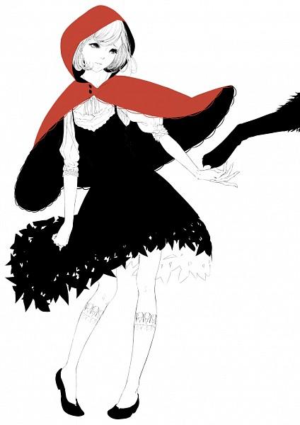 Tags: Anime, Sawasawa, Red Riding Hood, Red Riding Hood (Character), Big Bad Wolf, PNG Conversion, Mobile Wallpaper