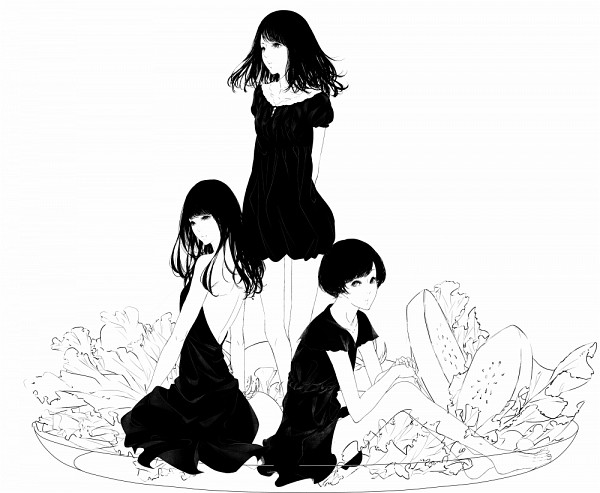 Tags: Anime, Sawasawa, Nishiwaki Ayaka, Kashino Yuka, Oumoto Ayano, Salad, J-Pop, Perfume (Band)