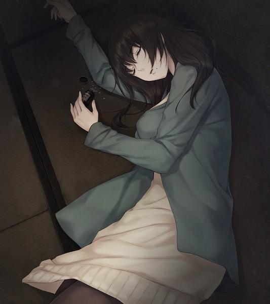 Tags: Anime, Sugina Miki, Innocent Grey, Kara no Shoujo 2, Sawashiro Nanako, Pills, Suicide, CG Art