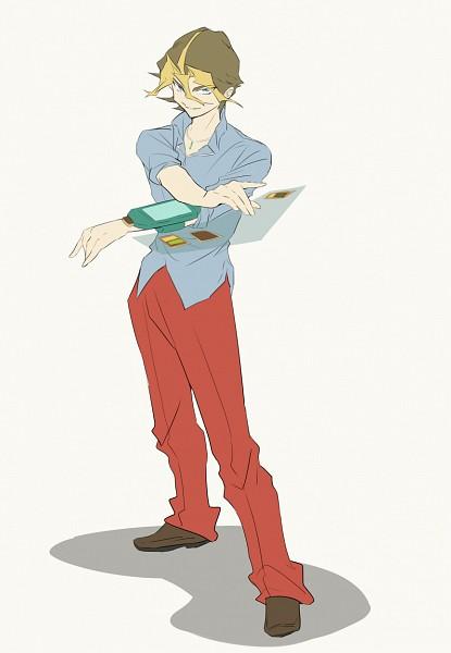 Tags: Anime, Pixiv Id 2043397, Yu-Gi-Oh!, Yu-Gi-Oh! ARC-V, Sawatari Shingo, Fanart, Fanart From Pixiv, Mobile Wallpaper, Pixiv, Silvio Sawatari