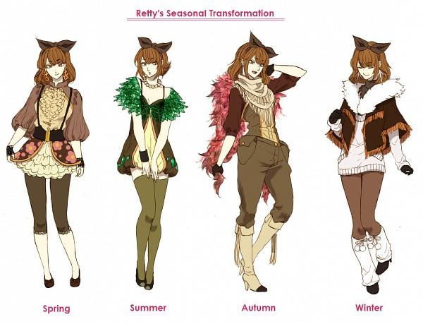Tags: Anime, Pixiv Id 743648, Pokémon, Sawsbuck, Stylized, Capri Pants, Brown Legwear, Deer, Fanart From Pixiv, Fanart, Pixiv