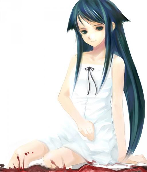 Tags: Anime, Takashima (Pixiv6066), Saya no Uta, Saya