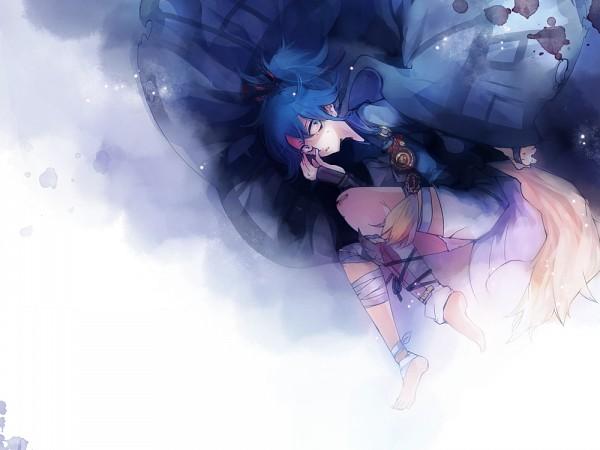 Tags: Anime, Yu-kichi, Touken Ranbu, Sayo Samonji, 1000x750 Wallpaper, Pixiv, Fanart From Pixiv, Fanart, PNG Conversion
