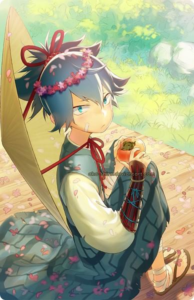 Tags: Anime, Aka★Shiro, Touken Ranbu, Sayo Samonji, Bamboo Hat, Twitter, deviantART, Mobile Wallpaper, Tumblr, Fanart, Fanart From DeviantART, PNG Conversion